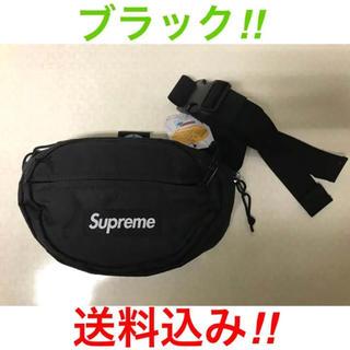 シュプリーム(Supreme)のSupreme Waist Bag 2018fw ブラック(ウエストポーチ)