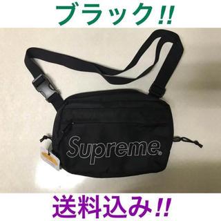 シュプリーム(Supreme)のSupreme Shoulder Bag 2018fw ブラック(ショルダーバッグ)
