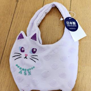 アナスイミニ(ANNA SUI mini)のスタイ猫形(スタイ/よだれかけ)