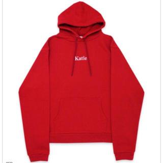 ケイティー(Katie)のkatie NEW SCHOOL big hood red(パーカー)
