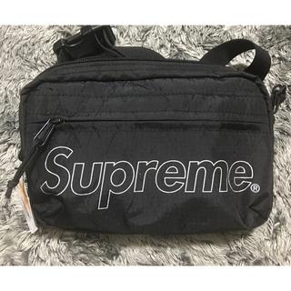 シュプリーム(Supreme)のsupreme shoulder bag 黒 ショルダー 18aw week1(ショルダーバッグ)