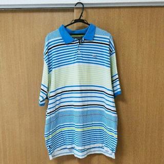 ロカウェア(Rocawear)の美品♪ROCA WEAR 3XL 変わりボーダー ポロシャツ(ポロシャツ)