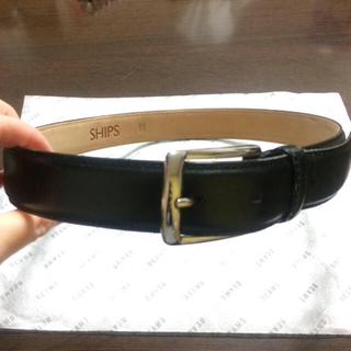 シップス(SHIPS)のシップス 黒ベルト こげ茶色ベルトセット こしひかりさま専用です。(ベルト)