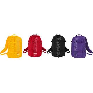 シュプリーム(Supreme)のSupreme 18AW Backpack バックパック リュック 黒 ブラック(バッグパック/リュック)
