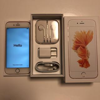 Iphone6s 64gd ローズゴールド