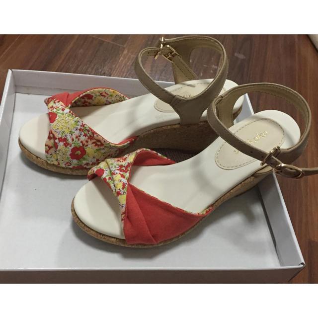 itm様 専用  ヴェリココ  サンダル  21cm レディースの靴/シューズ(サンダル)の商品写真