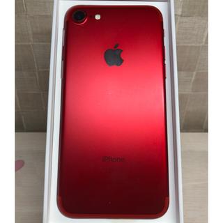 iPhone7 128g SoftBank RED