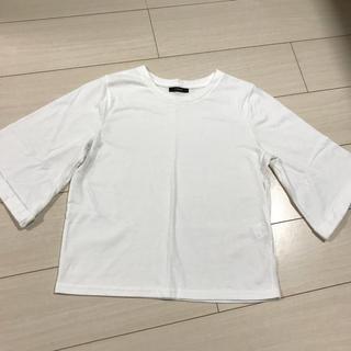 シマムラ(しまむら)のポンチフレアスリーブTシャツ(Tシャツ(半袖/袖なし))