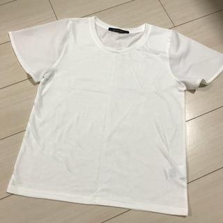 シマムラ(しまむら)のシースルー袖Tシャツ(Tシャツ(半袖/袖なし))