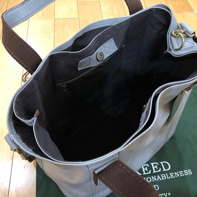 master-piece(マスターピース)のCreed(クリード)マスターピース  大型トート2wayバッググレー新品未使用 メンズのバッグ(トートバッグ)の商品写真