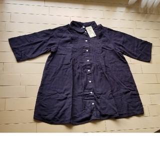 ムジルシリョウヒン(MUJI (無印良品))のマタニティーシャツ  M-L(マタニティウェア)