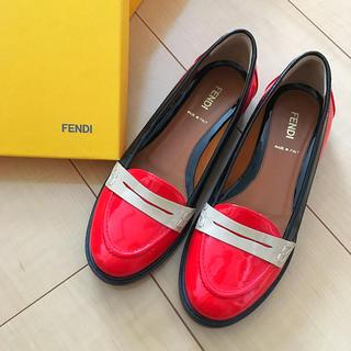 フェンディ(FENDI)の革靴 サイズ35(ローファー/革靴)