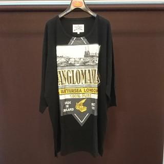Vivienne Westwood - ヴィヴィアンウエストウッド BATTERSEA ビッグTシャツ アングロマニア