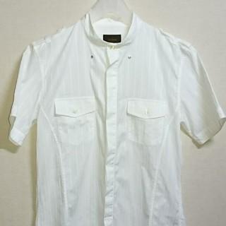テットオム(TETE HOMME)のTETE HOMME バンドカラー 半袖シャツ(シャツ)