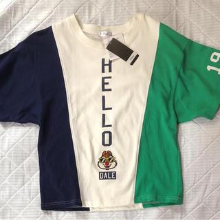 シマムラ(しまむら)の最終価格 新品 ディズニー デール Tシャツ Mサイズ トップス しまむら(Tシャツ(半袖/袖なし))