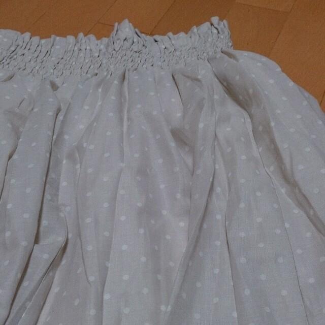 LOWRYS FARM(ローリーズファーム)のLOWRYS ドットシフォンスカート レディースのスカート(ミニスカート)の商品写真