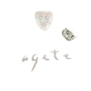 アガット(agete)のアガット SVピアスキャッチ(その他)