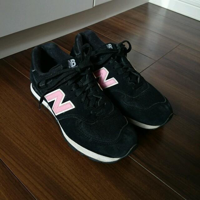 New Balance(ニューバランス)のNB ☆ ブラック×ピンク レディースの靴/シューズ(スニーカー)の商品写真