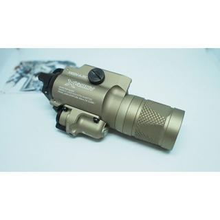 シュアファイア(SUREFIRE)のX400V新品・ストロボ・レーザー搭載 シュアファイアウェポンライト(個人装備)
