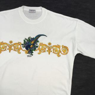 ヴェルサーチ(VERSACE)の◯メンズ! VERSACE SPORT ヴェルサーチ Tシャツ 白◯(Tシャツ/カットソー(半袖/袖なし))