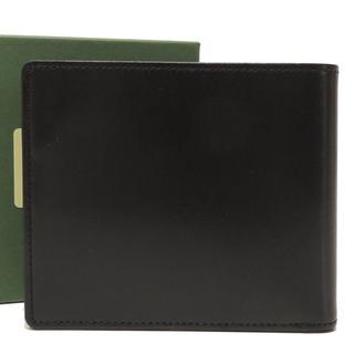 キプリス(CYPRIS)のキプリス レザー 二つ折り 財布 ブラック メンズ ウォレット 19518(折り財布)