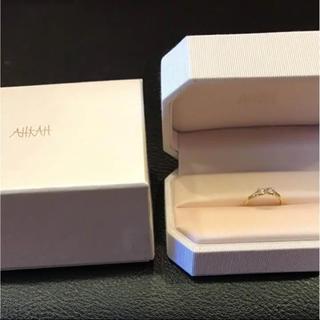 アーカー(AHKAH)のアーカー フィルージュ ダイヤ2Pリング(リング(指輪))