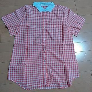 ジーユー(GU)のGU 半袖シャツ Lサイズ(シャツ/ブラウス(半袖/袖なし))