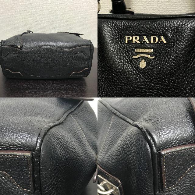 59288887eebe PRADA - プラダ ハンドバッグ 黒 サフィアーノ お得☆の通販 by yo-'s ...