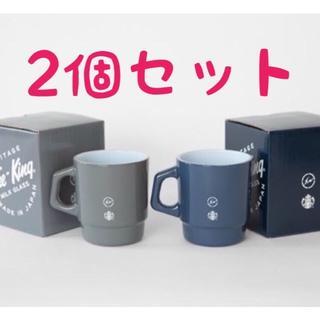 スターバックスコーヒー(Starbucks Coffee)のフラグメントデザイン マグカップ 2個セット(グラス/カップ)