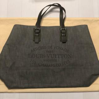 ルイヴィトン(LOUIS VUITTON)のヴィトン バッグ グレー 黒 オシャレ 大きい カーキ(その他)