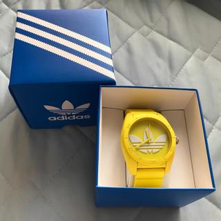 アディダス(adidas)のアディダス 腕時計 イエロー(腕時計(アナログ))
