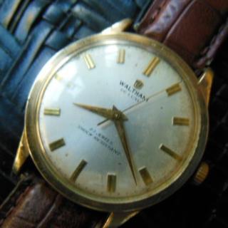 ウォルサム(Waltham)のウォルサム 14KGF手巻き時計 23JEWELS アンティーク(腕時計(アナログ))