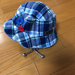 ウーヴィーベビー(Oobi BABY)のOobi baby ウービー チェック帽子 (帽子)