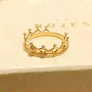 ノジェス(NOJESS)のノジェス  クラウンダイヤリングk10 (リング(指輪))
