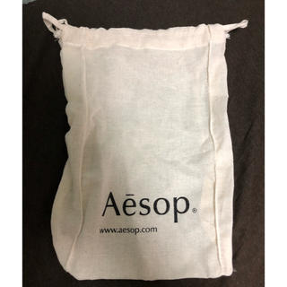 イソップ(Aesop)のAesop巾着 ショッパー(ショップ袋)