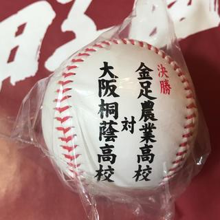 第100回全国高校野球選手権記念大会 夏の甲子園 2018年度 決勝戦記念ボール(記念品/関連グッズ)
