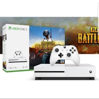 エックスボックス(Xbox)のxboxone本体  PUBG内蔵(家庭用ゲーム機本体)