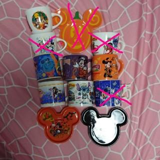 ディズニー(Disney)の東京ディズニーランド ハロウィン ミニ皿(食器)