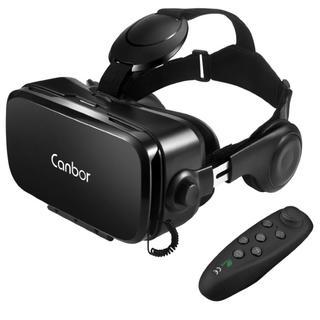 Canbor VR ゴーグル VRヘッドセット メガネ 3D(その他)