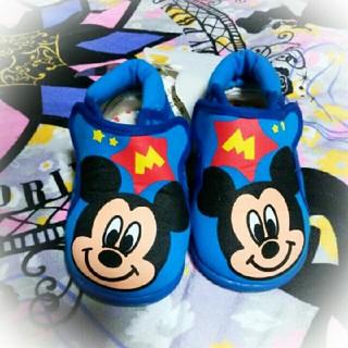ディズニー(Disney)の14ミッキーテープシューズ(スニーカー)