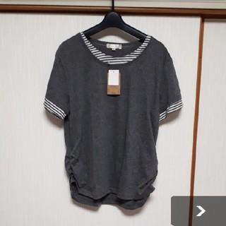 シマムラ(しまむら)の《新品・訳あり》3L 重ね着風Tシャツ(Tシャツ(半袖/袖なし))