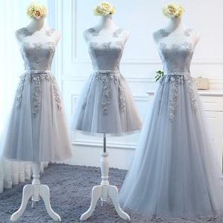 新品ドレス 二次会 音楽会 発表会パーティードレス  ワンピース