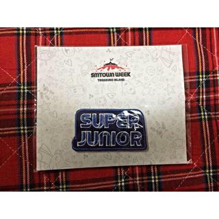 SuperJunior 公式ワッペン(アイドルグッズ)