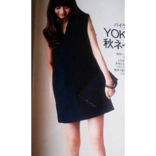 エストネーション(ESTNATION)の美品 YOKOCHANワンピース☆雑誌掲載商品(ミニワンピース)
