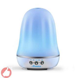 iTronicsアロマディフューザー超音波式 加湿器 アロマライト12(加湿器/除湿機)