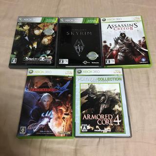 エックスボックス360(Xbox360)のXbox360 ソフト まとめ(家庭用ゲームソフト)