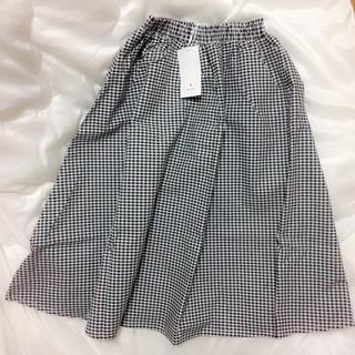 メリージェニー(merry jenny)の新品merryjennyギンガムチェックスカート(ひざ丈スカート)