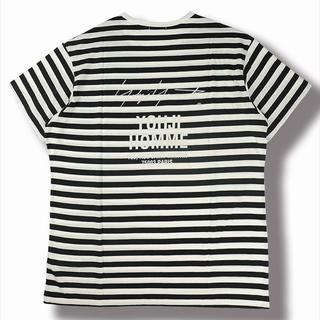 ヨウジヤマモト(Yohji Yamamoto)のYOHJI YAMAMOTO Border Staff T-Shirt(Tシャツ/カットソー(半袖/袖なし))