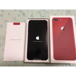 アップル(Apple)のiPhone8 Plus 64gb PRODUCT RED(スマートフォン本体)