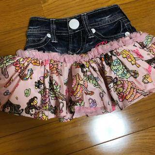 ロニィ(RONI)のRONI JEANS ロニィ ロニィちゃん スカート xs(スカート)